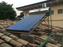 small solar heater for greenhouse