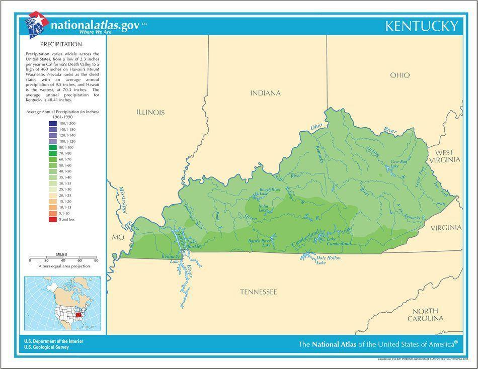 kentucky weather precipitation patterns