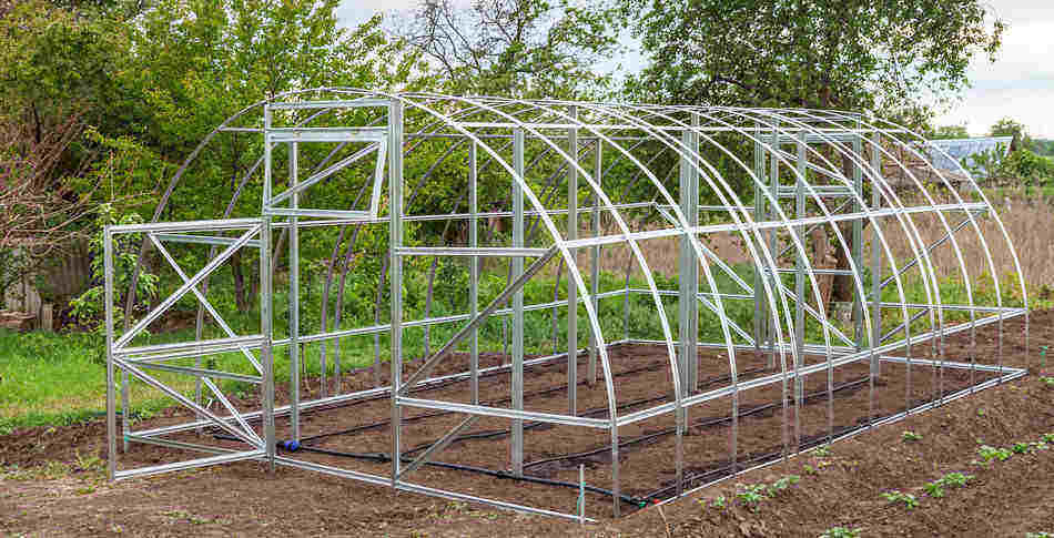 materials for your greenhouse
