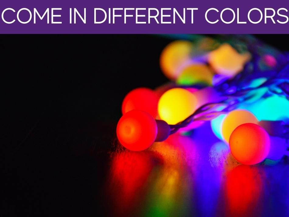 Come In Different Colors
