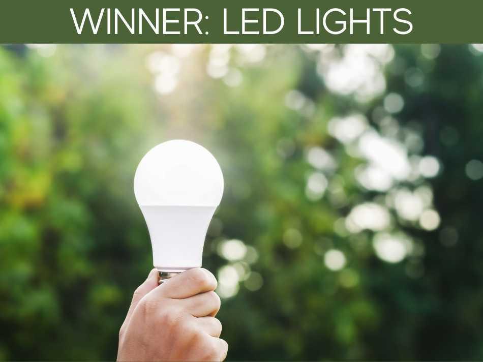 Winner: LED Lights